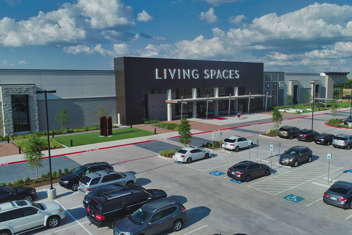 Living Spaces – New Showroom