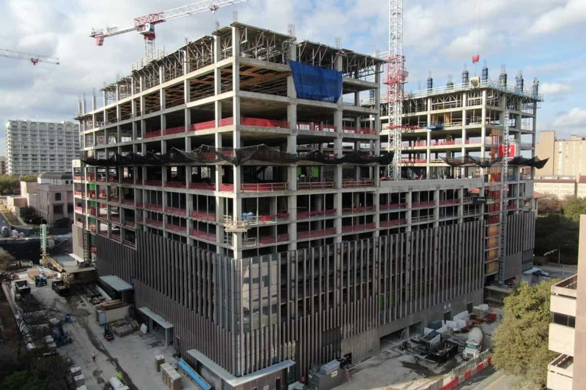 George HW Bush office building: under construction