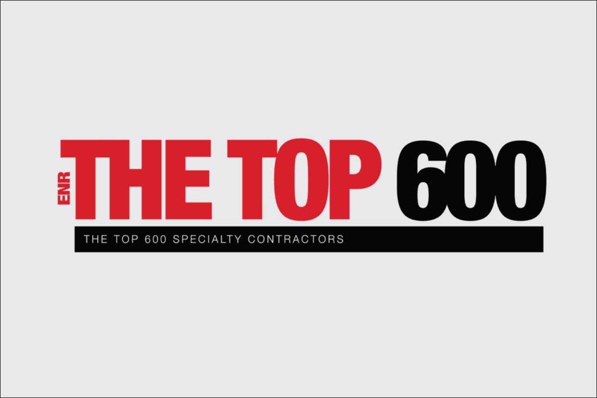 ENR Top 600 Specialty Contractors